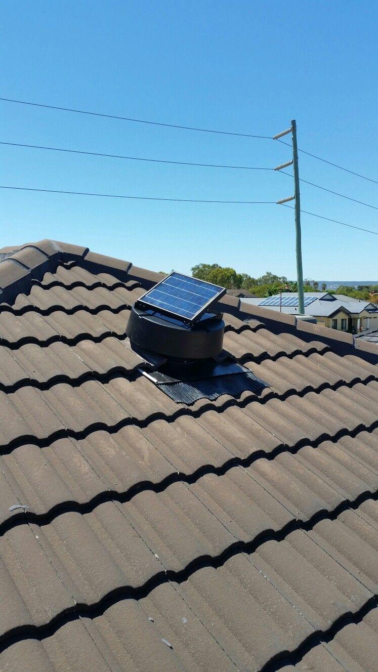 Quality Green Vent Solar Attic extraction fan Attic