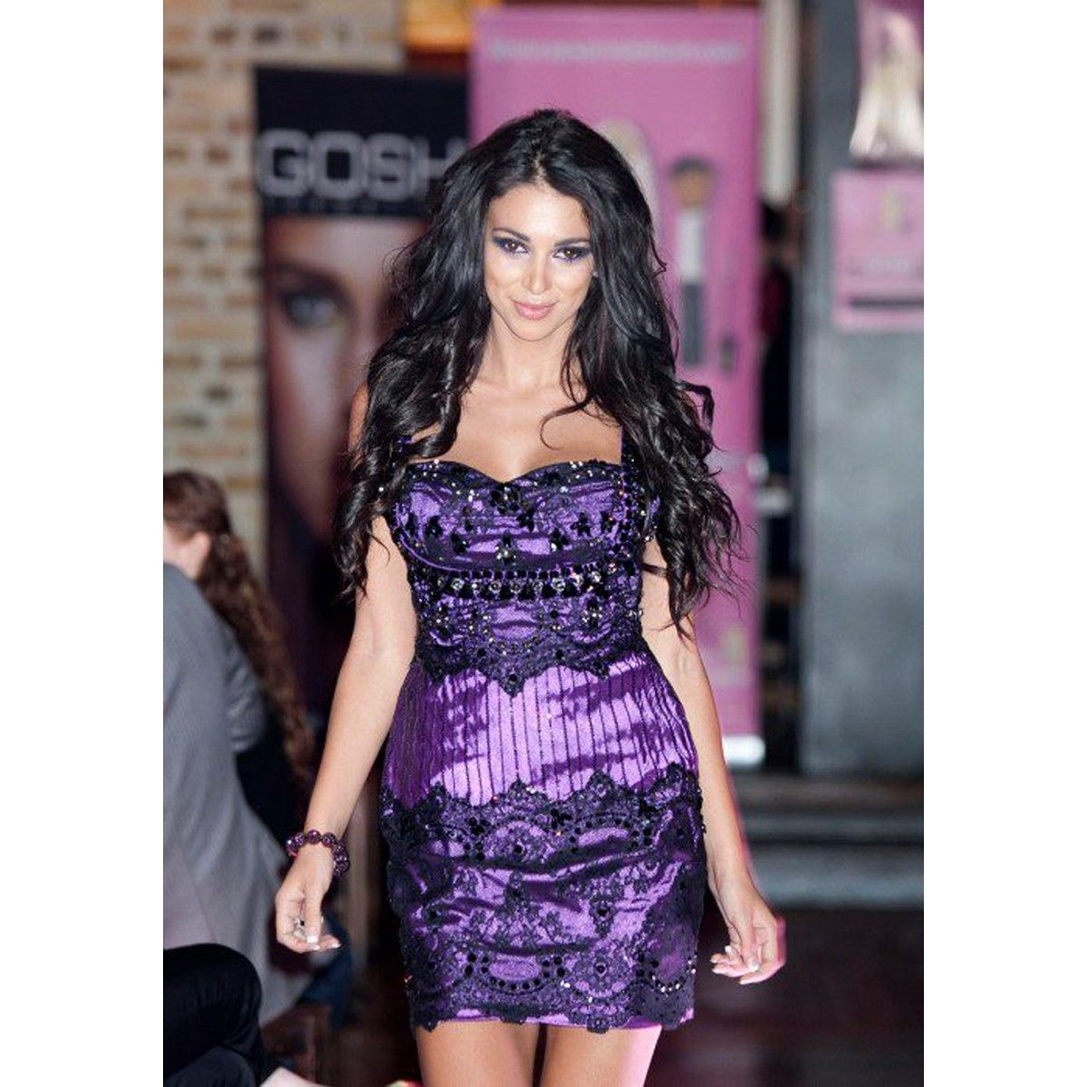 Two Methods Of Accessorizing Your Purple Cocktail Dresses - http ...