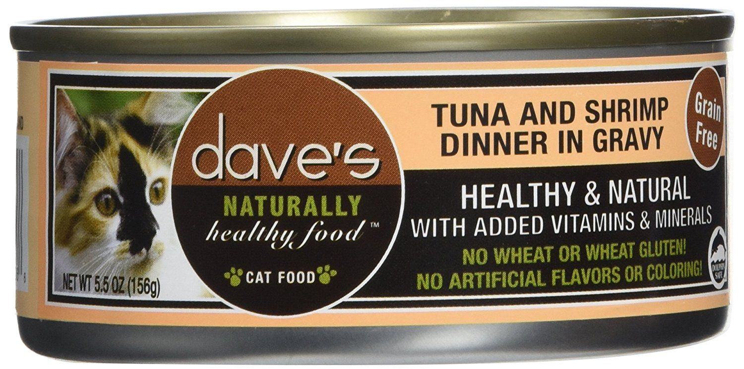 Dave's Pet Food Tuna and Shrimp Food (24 Cans Per Case), 5