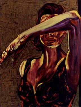 "Saatchi Art Artist CARMEN LUNA; Painting, ""EXPRESSIONS of Carmen Luna. Remedios.  (SOLD)"" #art http://www.saatchiart.com/art-collection/Painting-Mixed-Media/Expressions-of-Carmen-Luna/71968/25377/view"