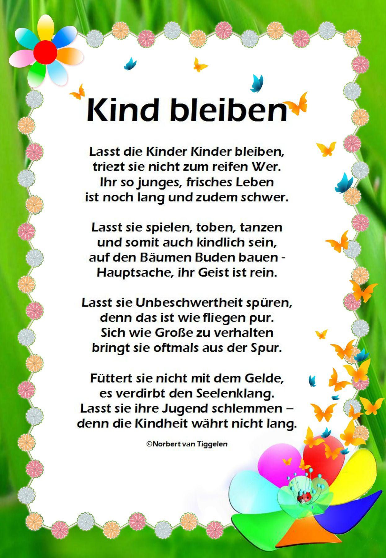 Pin von Marion Andrea auf Deutsch | Lustige gedichte für ...