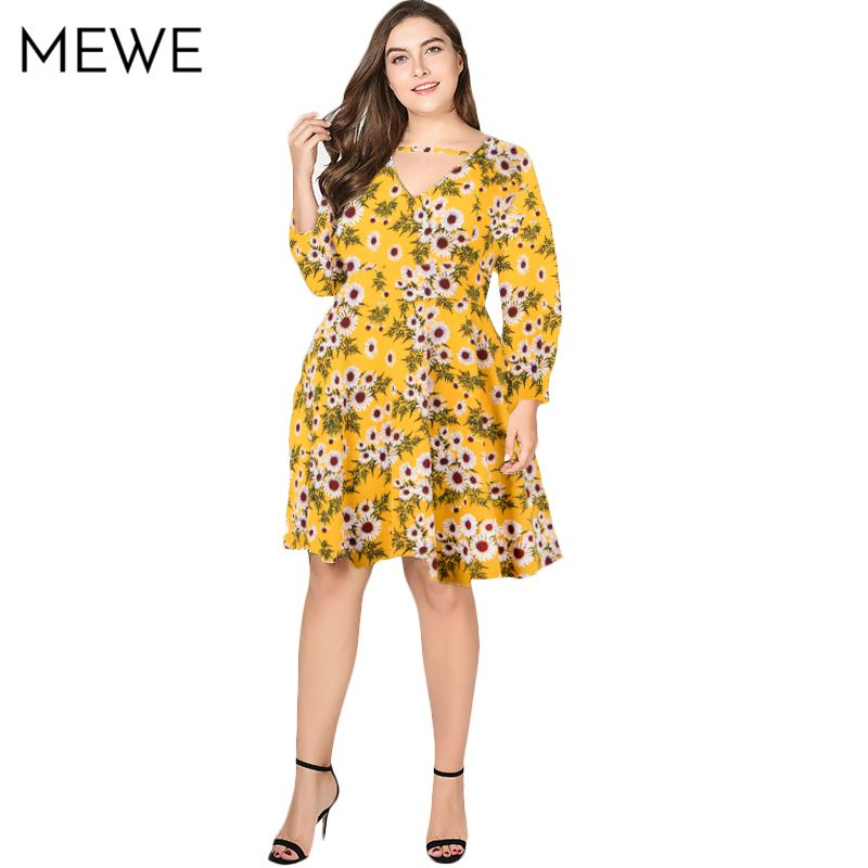 d496b84df5c44 Woman Summer Dress 2018 Plus Size Boho Dress 5xl 6xl Vintage Floral ...
