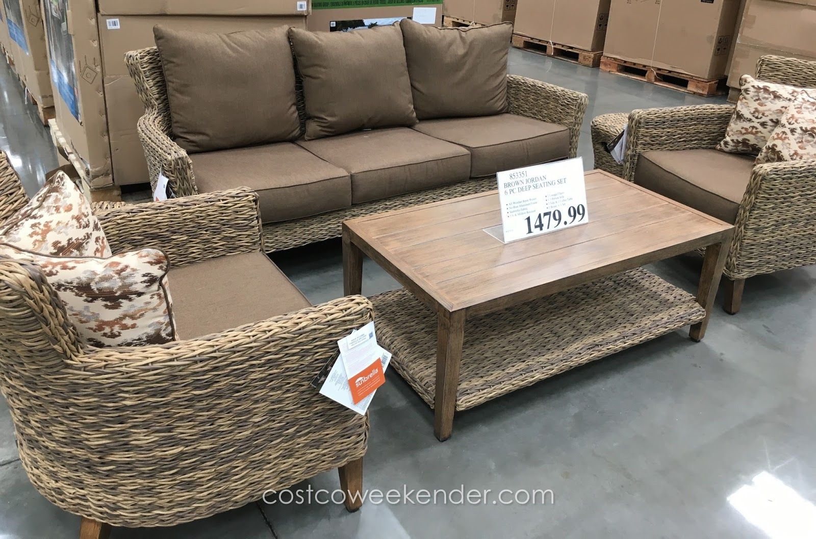 Brown Jordan Patio Furniture Costco