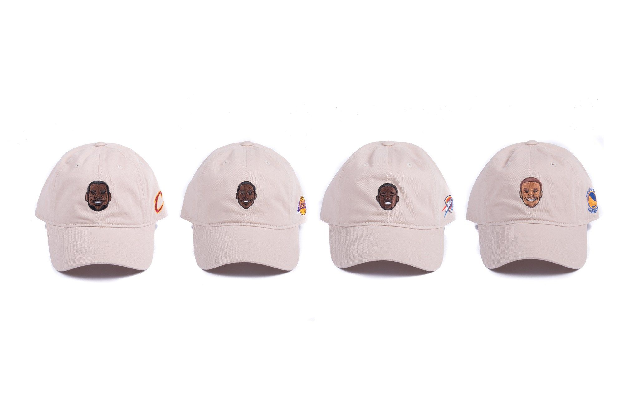 "adidas Makes ""Dad Hats"" of LeBron James Kobe Bryant KD & Steph Curry"