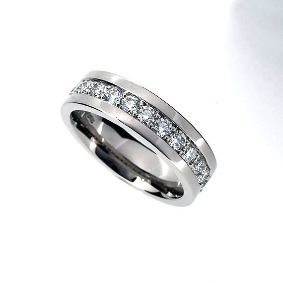 Man Diamond Eternity Wedding Band Diamond Ring Engagement Ring