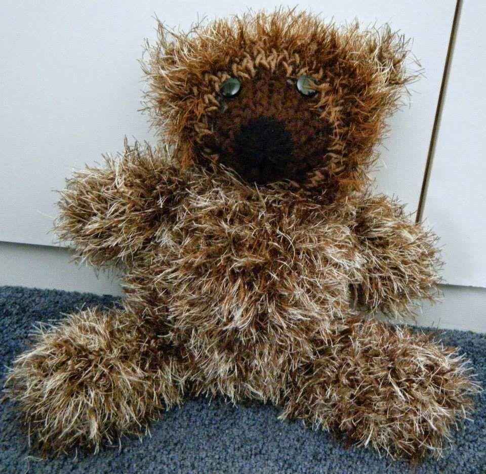 Large Loom Knitted Teddy Bear Supplies 36 peg loom looming hook ...