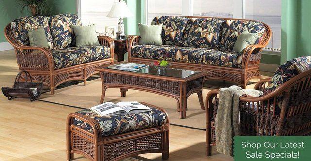 Rattan Furniture Set  http://blog.wickerparadise.com/post/145703766992/rattan-furniture-set