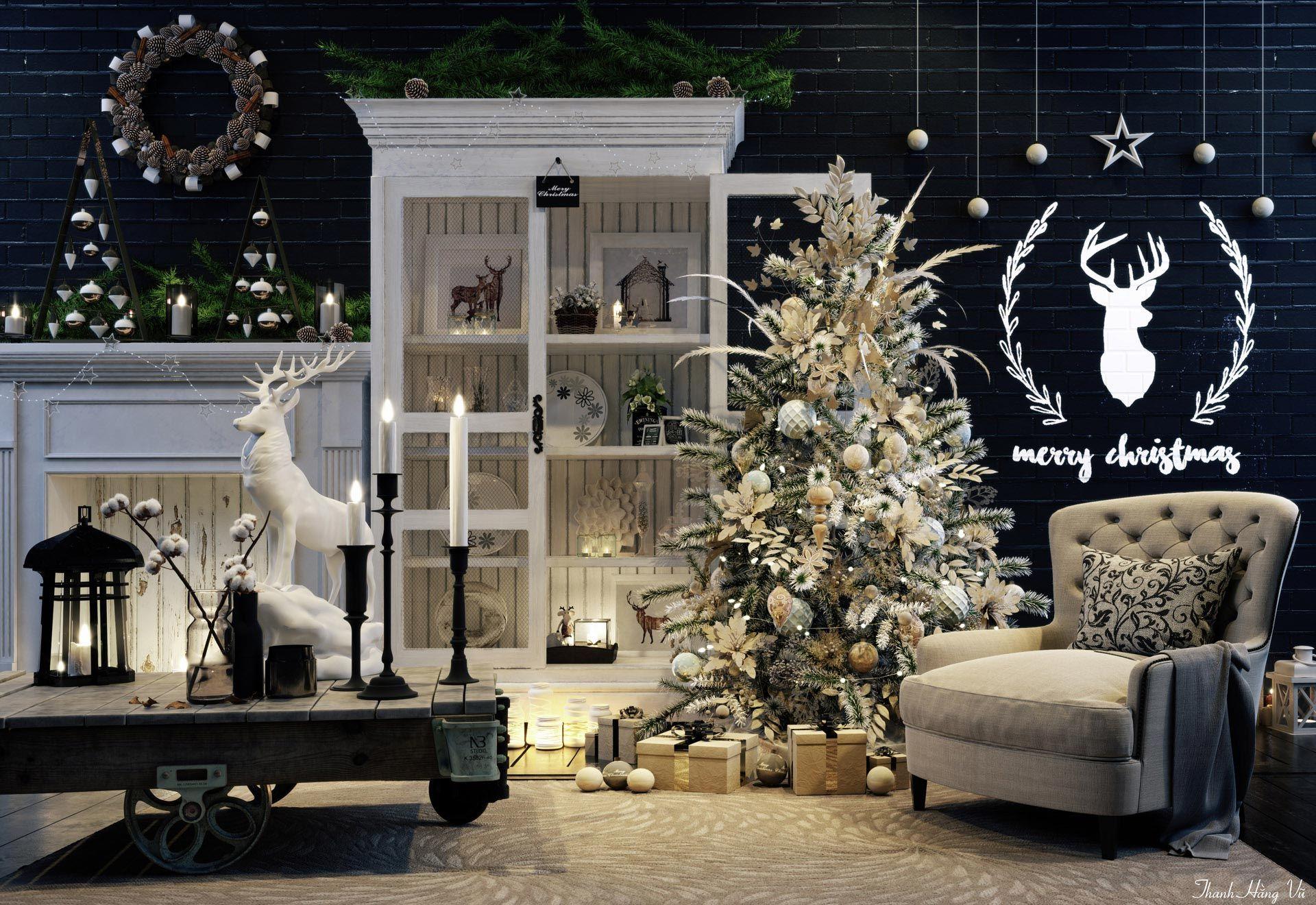 Kreative wohnzimmergestaltung ~ Vwartclub merry christmas render pinterest