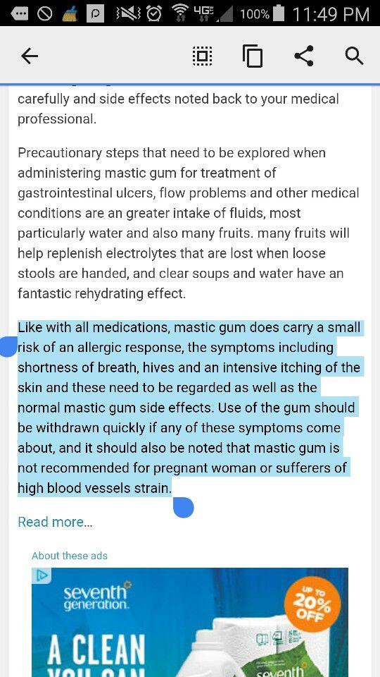 Pin by Brian Bradshaw on Health; Mastic Gum | Mastic gum ...