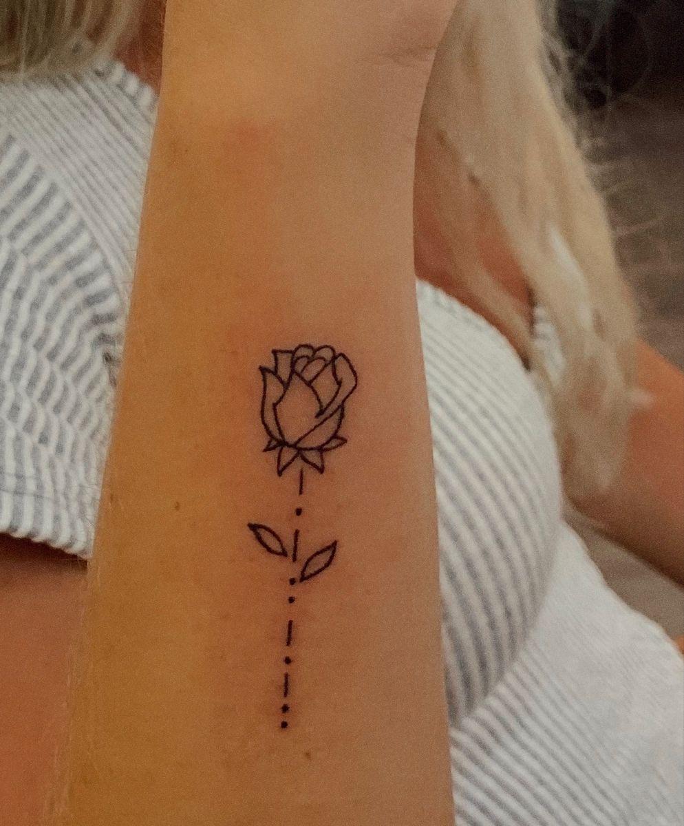 Word Stem Tattoo : tattoo, Small, Tattoo, Morse, Tattoo,