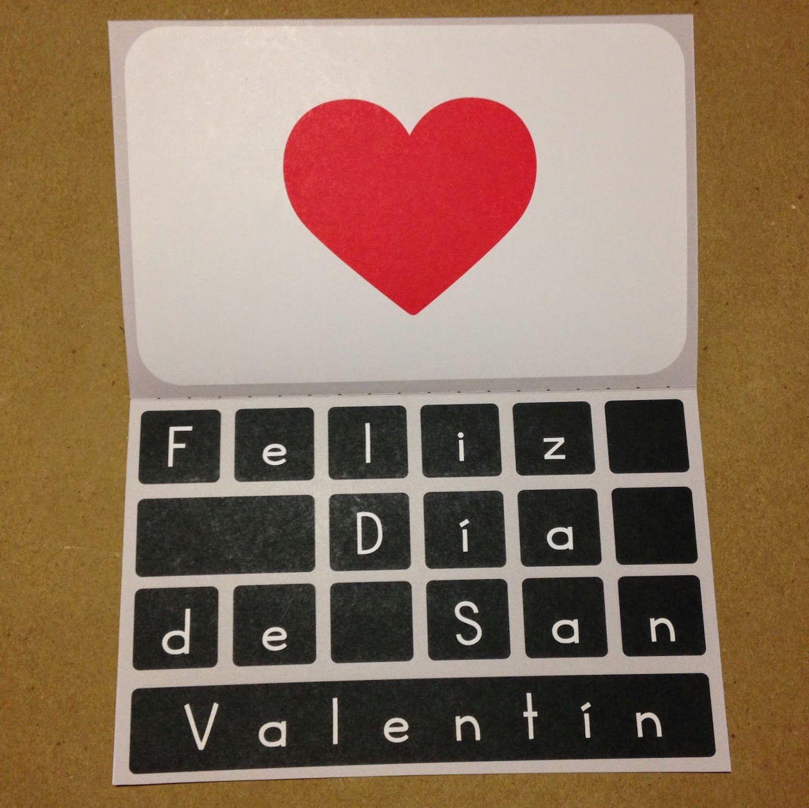 Tarjeta para san valentín macbook regalos pinterest