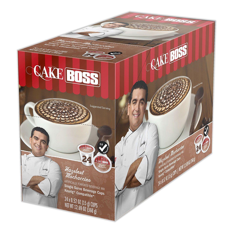 Cake boss new hazelnut mochaccino 24 count single