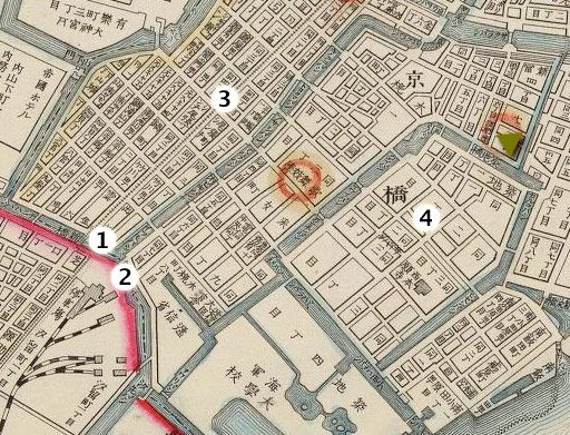 vintage street map of tokyo japan - Google Search | maps | Pinterest ...