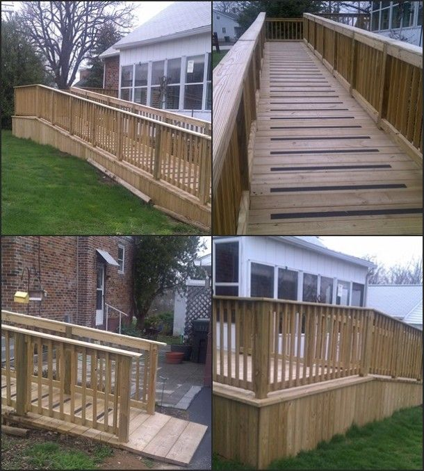 Mobile Home Porch Designs With Ramp Mobile Home Wheelchair Ramp