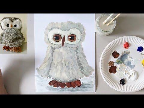 Tiere malen lernen mit Acrylfarben für Anfänger ab ca. 10 Jahren (Lektion 6)