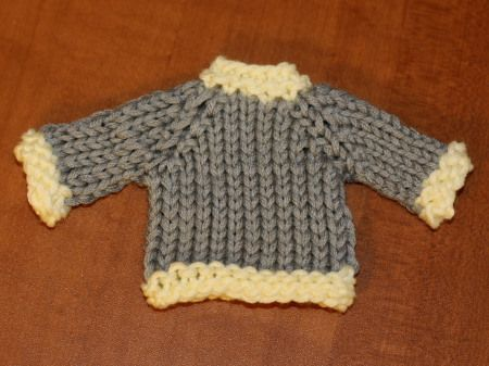 One Hour Sweater Free Knit Pattern Babies Pinterest Knit