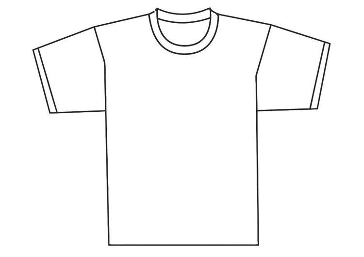 malvorlage vorderseite vom tshirt  malvorlagen tshirt