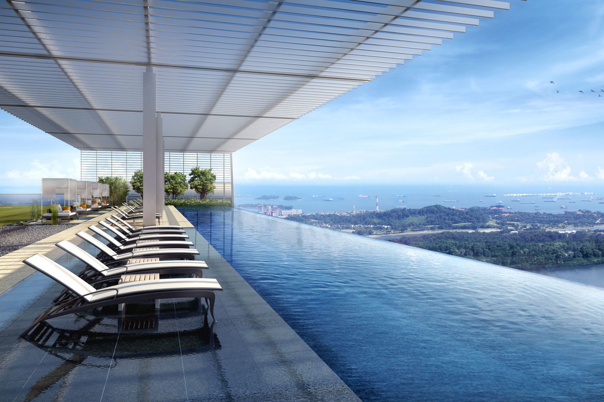 Singapore's Wallich Residence Super Penthouse Costs 78.4M