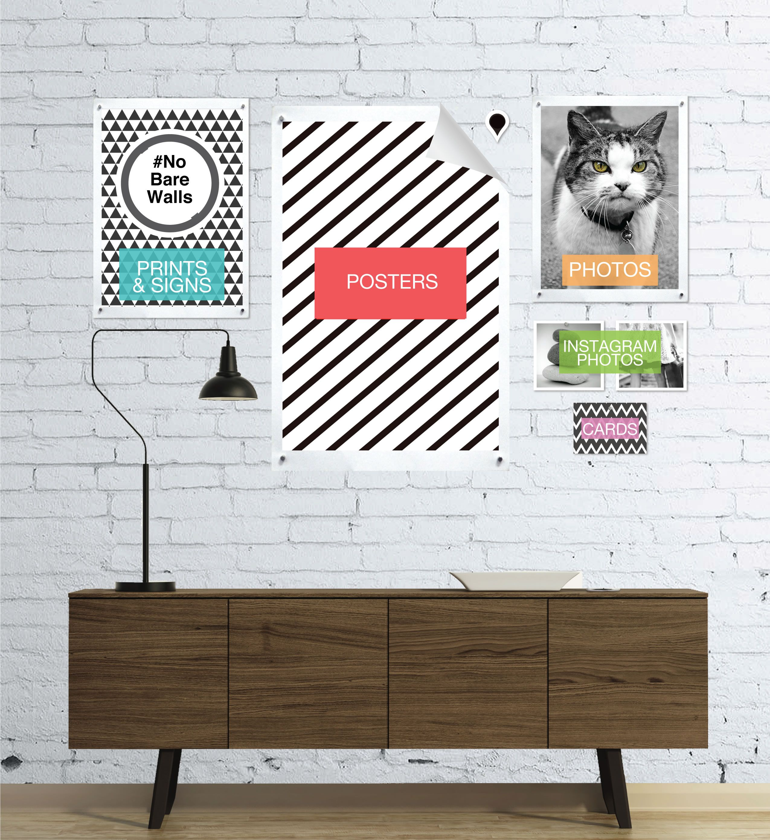 GoodHangups - Turn Your Walls Into Magnet Boards