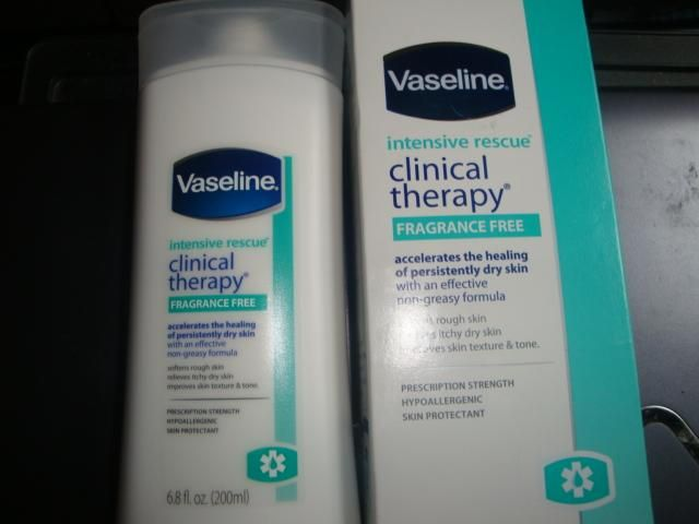 Vaseline Intensive Rescue Clinical Therapy Fragrance Free Dry Skin Therapy Fragrance Free Products Dry Itchy Skin