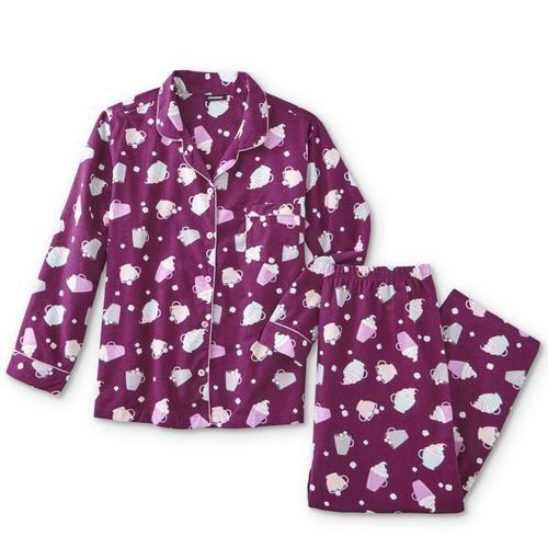 f594e0ca89 Joe Boxer Women's Plus Flannel Pajama Shirt & Pants - Hot Cocoa &  Marshmallows - Kmart