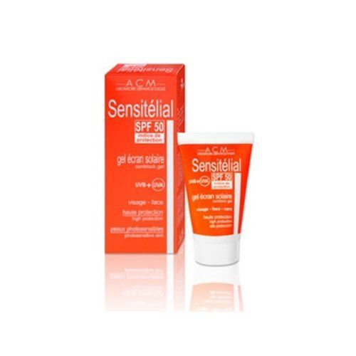 Sensitelial SPF 50 The Laboratoire ACM (40 mL) by The Laboratoire  ACM. $32.98. Sunscreen SFS 50. Sun High proteccion. For oily and blemished skin. High sun protection. Sunblock Gel. High Protection Photosensitive Skin High quality French dermatology Exclusive sale Amazon!