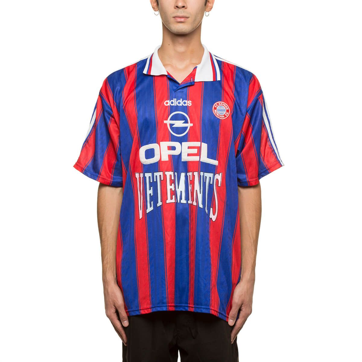 462f90a24 Vetements t-shirt from Les Vêtements de Football collection in blue and red