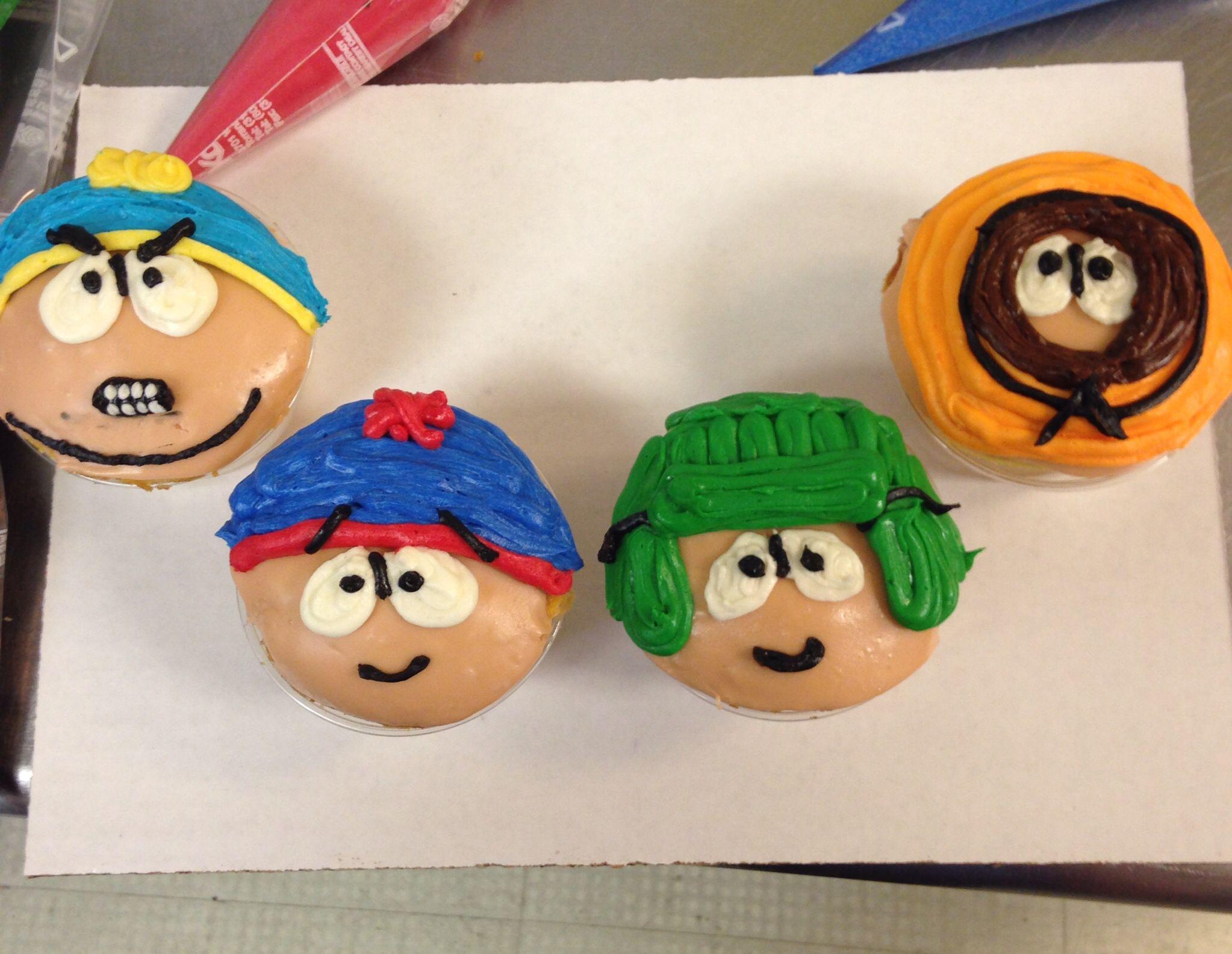 South Park cupcakes!