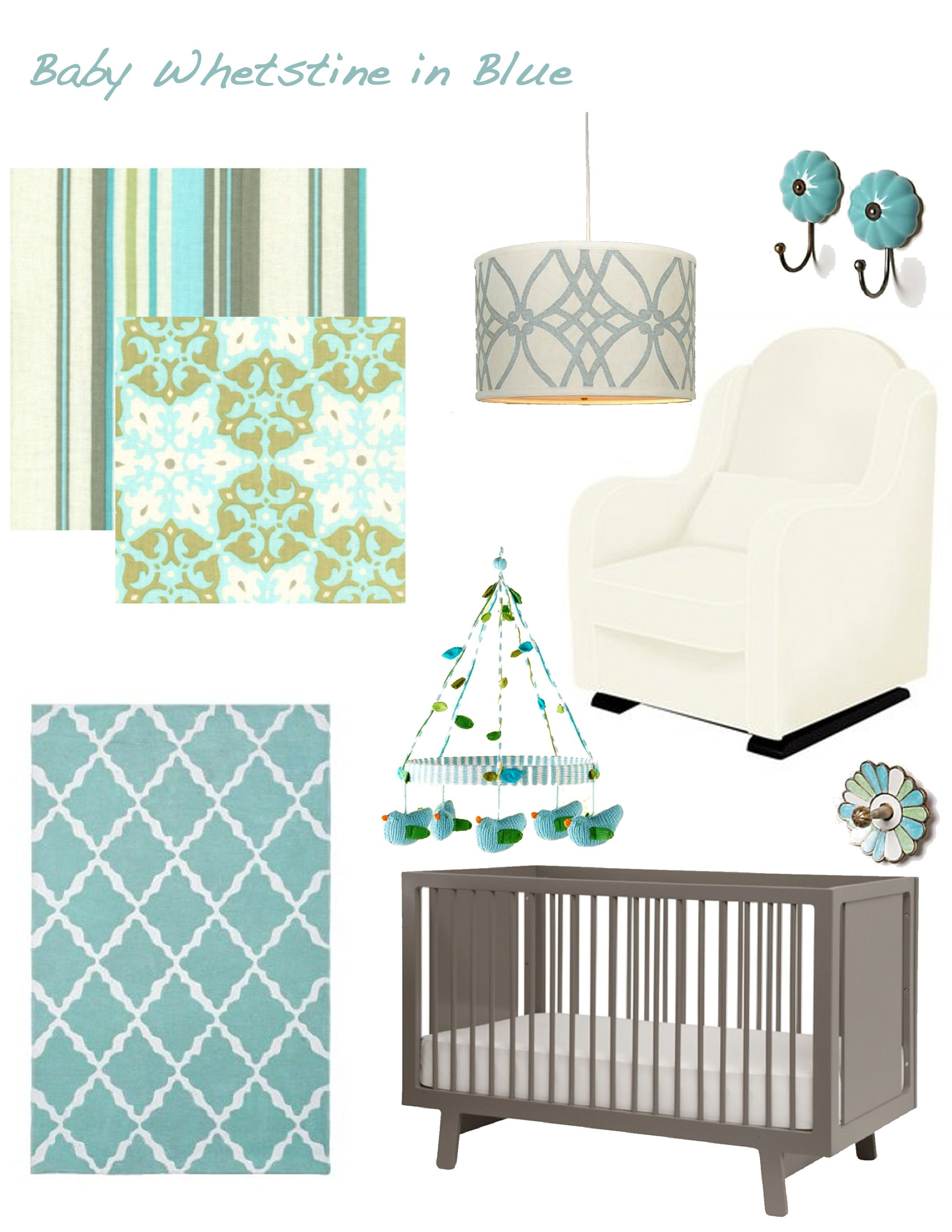 A Nursery Design for Baby W