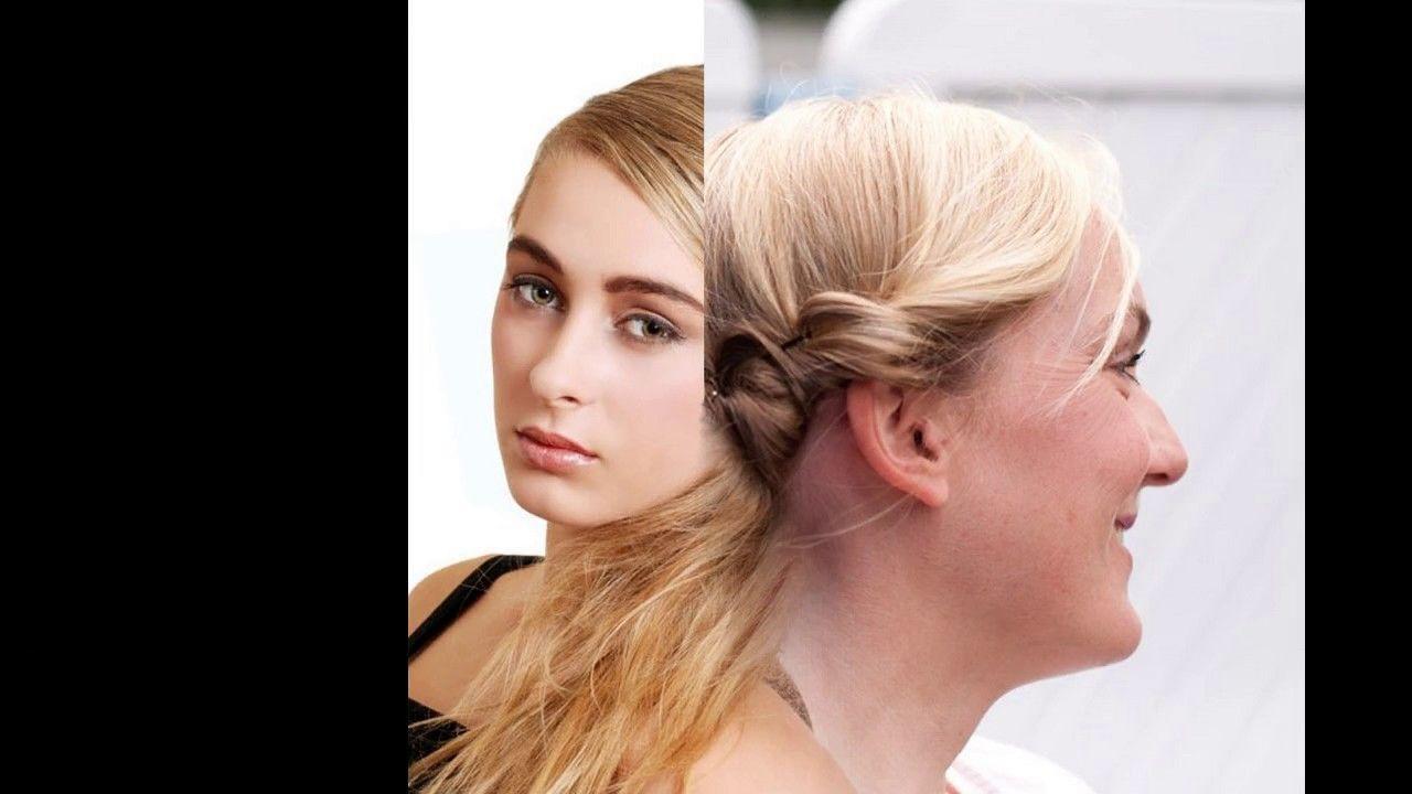 Frisur haare eindrehen für feines haar
