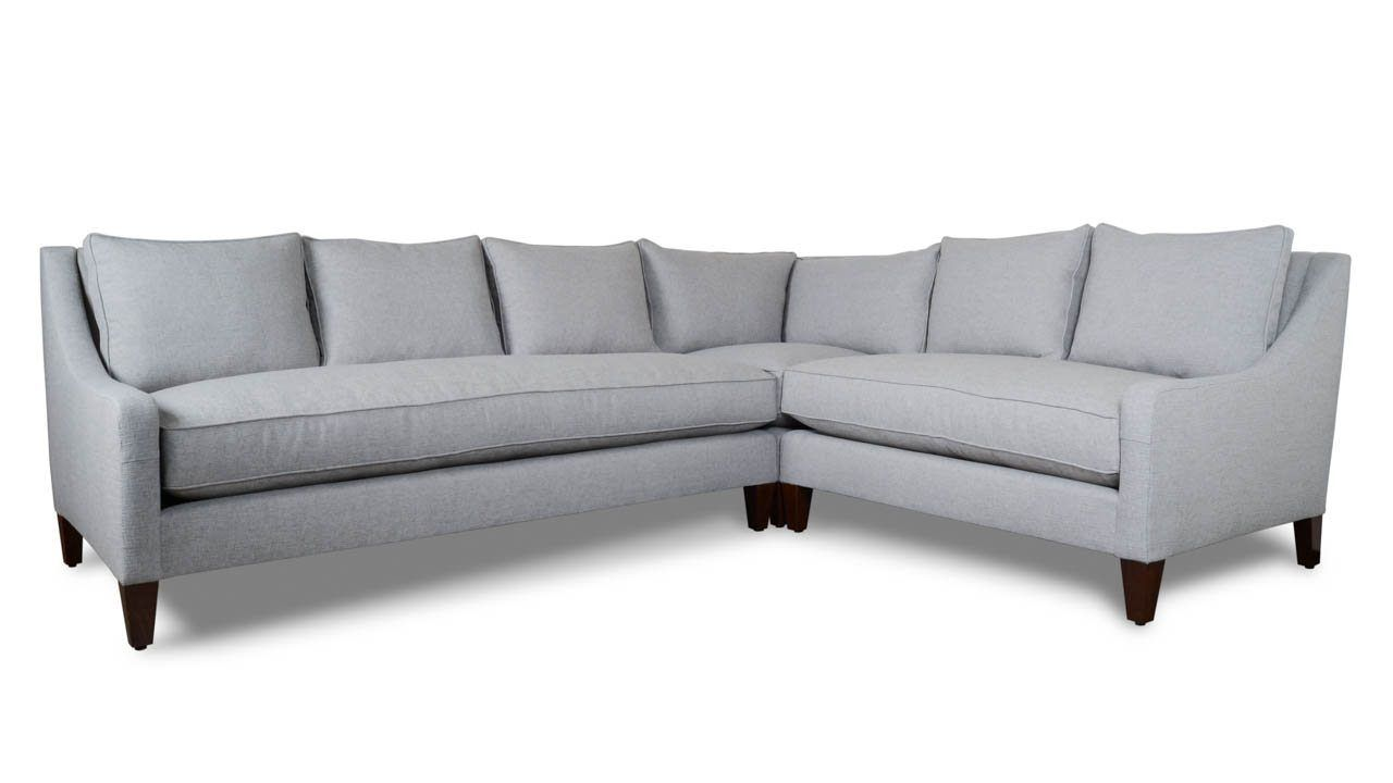 Cool Slope Arm Pillowback Square L Fabric Sectional 114 X 92 Uwap Interior Chair Design Uwaporg