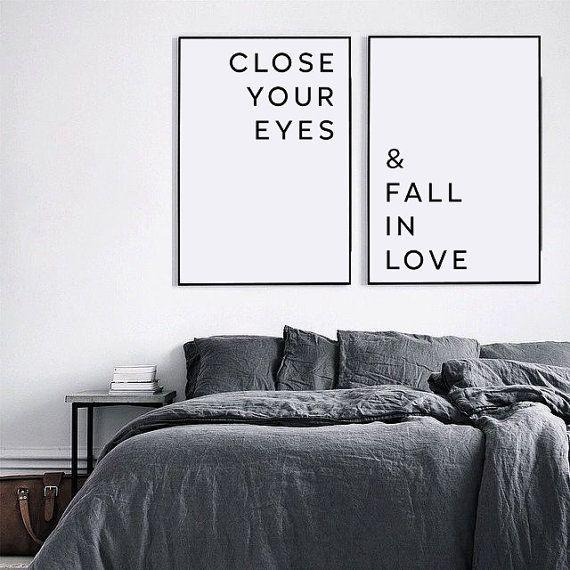 Verlieben sich in print verlieben Sie sich in Liebe Poster