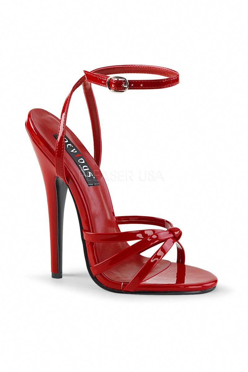 01d5b1333f16 Buy Sexy Red Single Sole Strappy Stiletto High Heels with cheap price and  high quality Heel Shoes online store which also sales Stiletto Heel Shoes