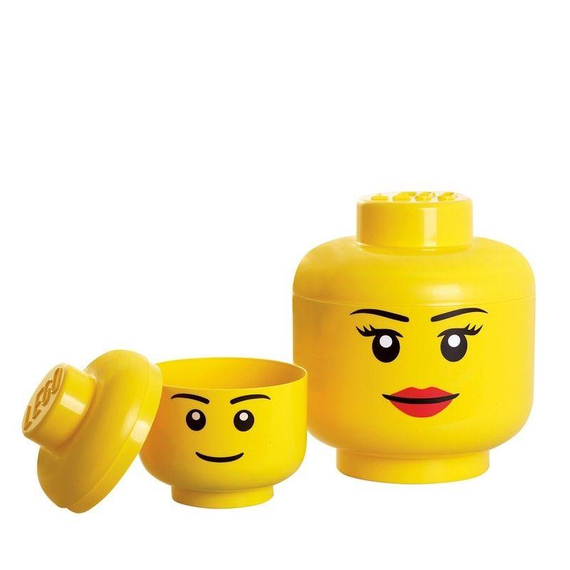 Lego opbevaring - Opbevaringshoved - GRATIS FRAGT