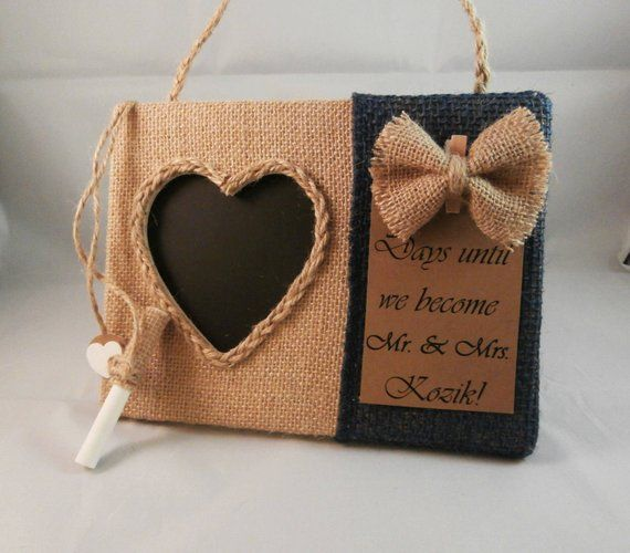 Wedding Countdown Gifts For Bride: Gifts For Fiance, Wedding