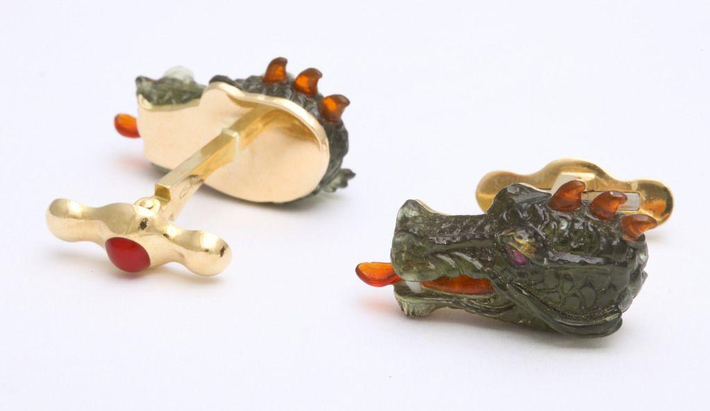 Michael Kanners Incredible Dragon Cufflinks