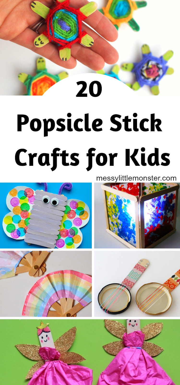 Photo of Popsicle Stick Crafts for Kids