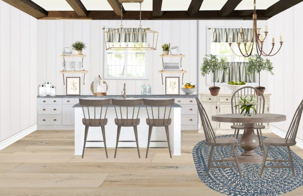 Designing your own farmhouse kitchen creating home have you always dreamed of  but haven   known how to do that also best blog rh pinterest