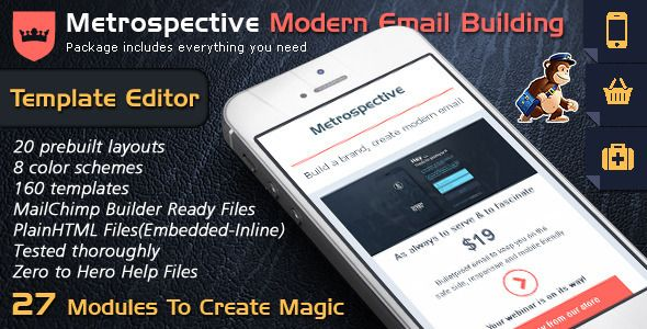 Nice email template builder modern responsive email themes buy email template design to send html email text pure text newsletter templates editor access by bedros on themeforest email template design to send spiritdancerdesigns Images