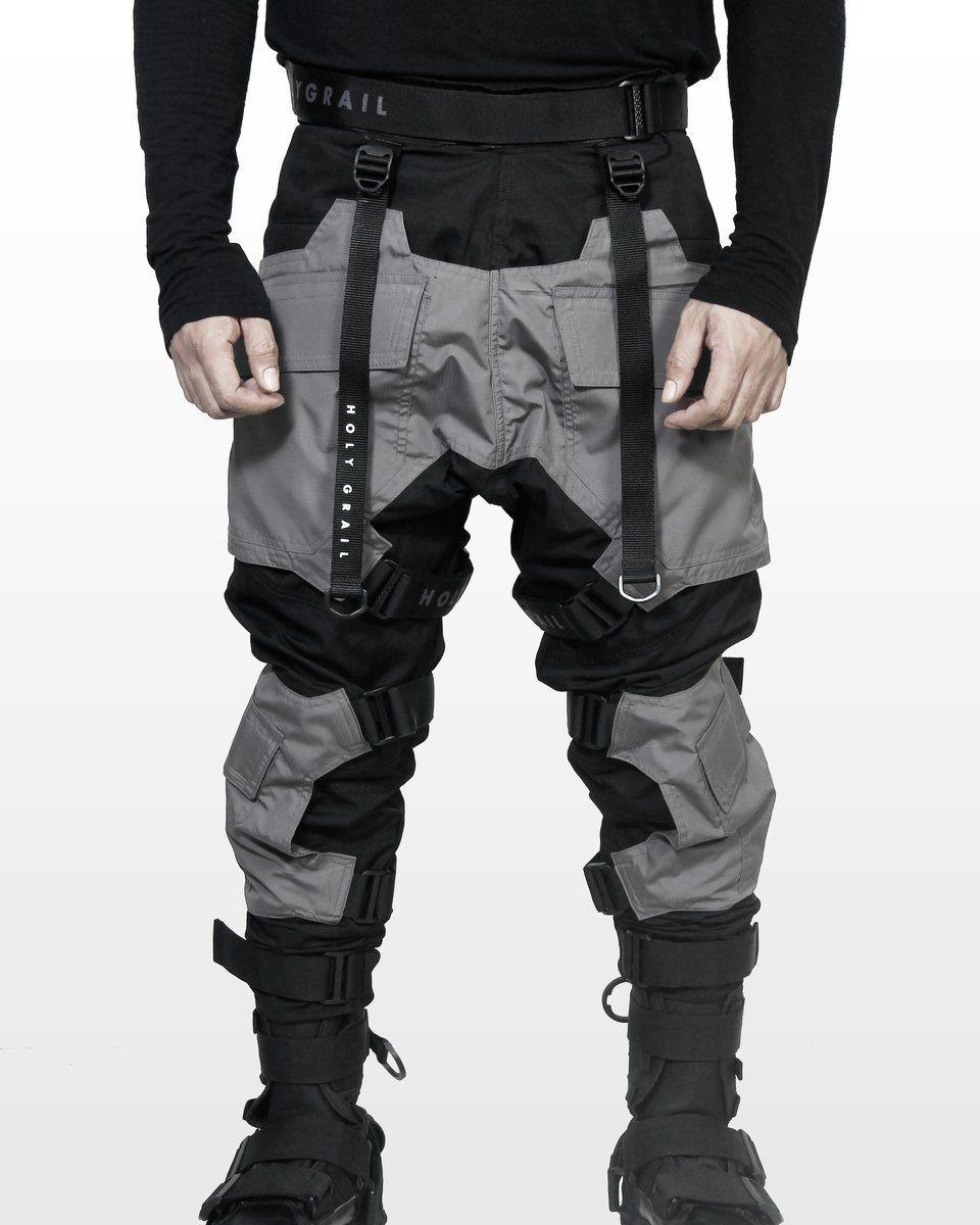 Pro Tech Tor H G P 02 Grey Cyberpunk Clothes Futuristic Fashion Cyberpunk Fashion