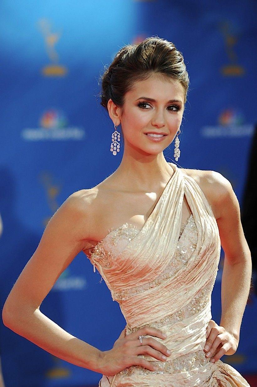 Nina Dobrev LITERALLY looks like a queen