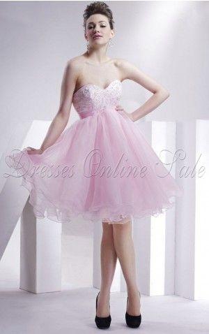 Rosaes Ball Gown Knielanges Herz-Ausschnitt Kleid    für großes Bild wälzen      Rosaes Ball Gown Knielanges Herz-Ausschnitt Kleid