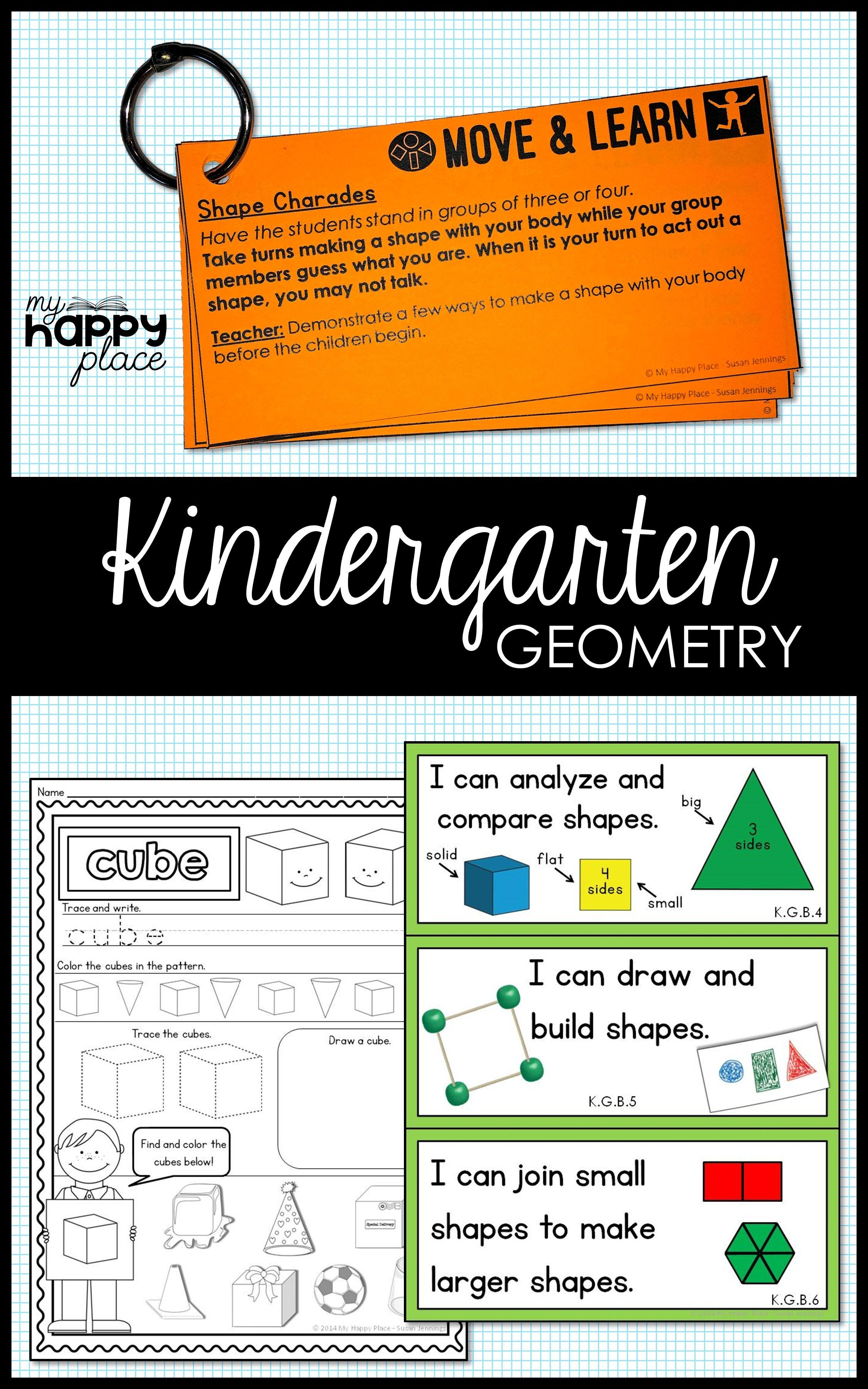 Geometry For Kindergarten