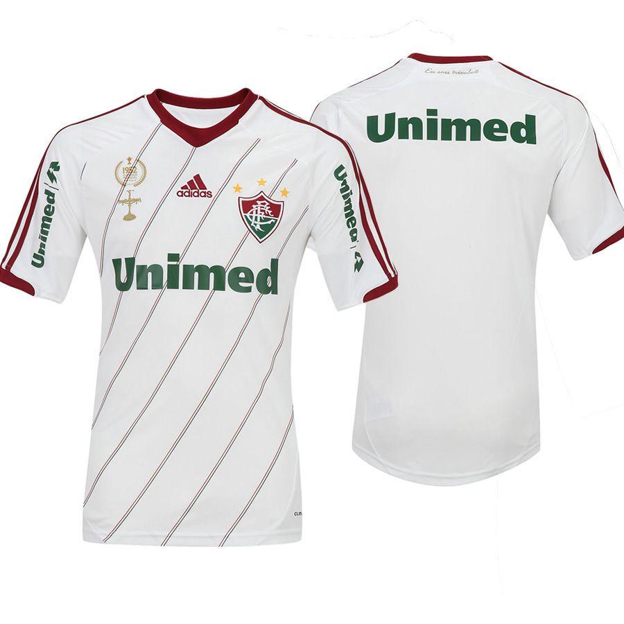Flu Boutique Online   Produto   Camisa do Fluminense II Adidas 2012 - 2013  Branca Personalizável  f9477d05a7e64
