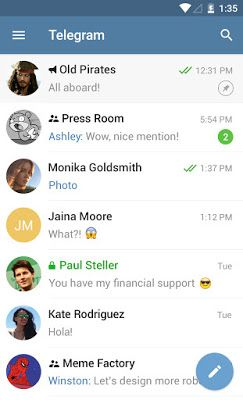 Download Telegram APK and BAR for Blackberry 10   AndroBerry