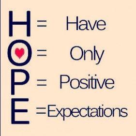 Hope - encouragement