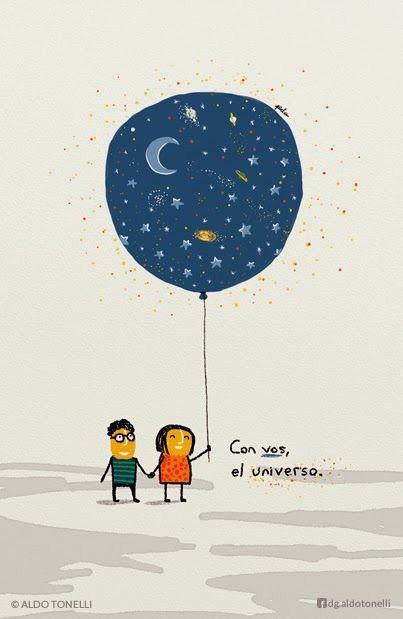 Con vos el universo