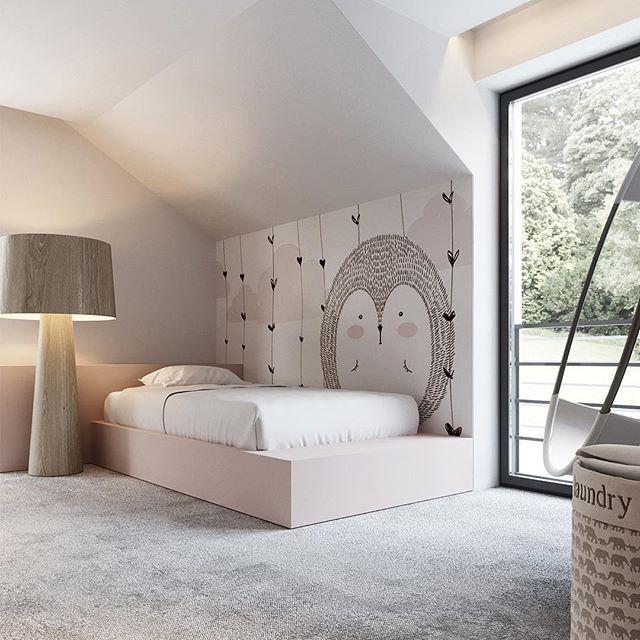 "KUOO ARCHITECTS on Instagram: "" newproject  girlroom  minimalism  polisharchitects  design  interiors  interiordesign  home @kuooarchitects"""