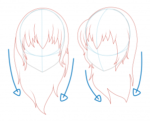 How To Draw Ponytail Google Search Art Stuffs Drawings How To