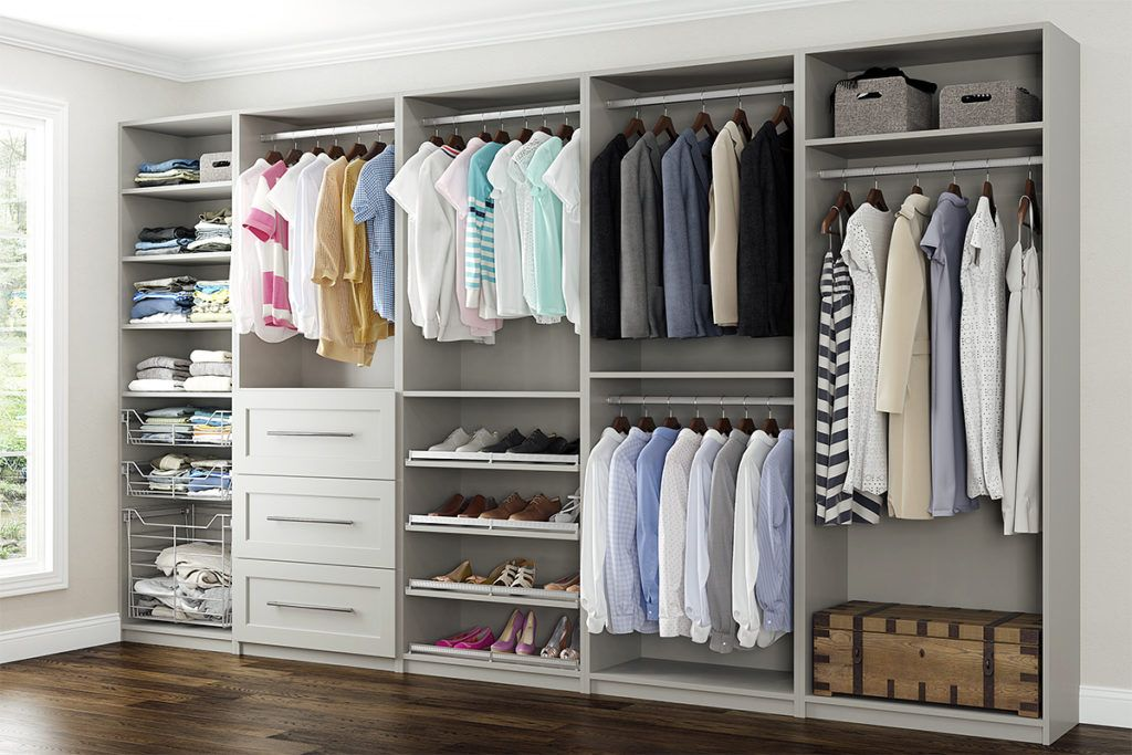 Best Another Closet In Maple With Ellie Gray Paint From Bishop 400 x 300